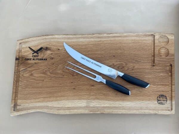 מארז בוצר לבשר עם סכין
