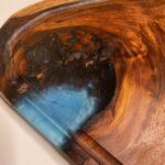 בוצר סיסם הודי ענק בשילוב אפוקסי