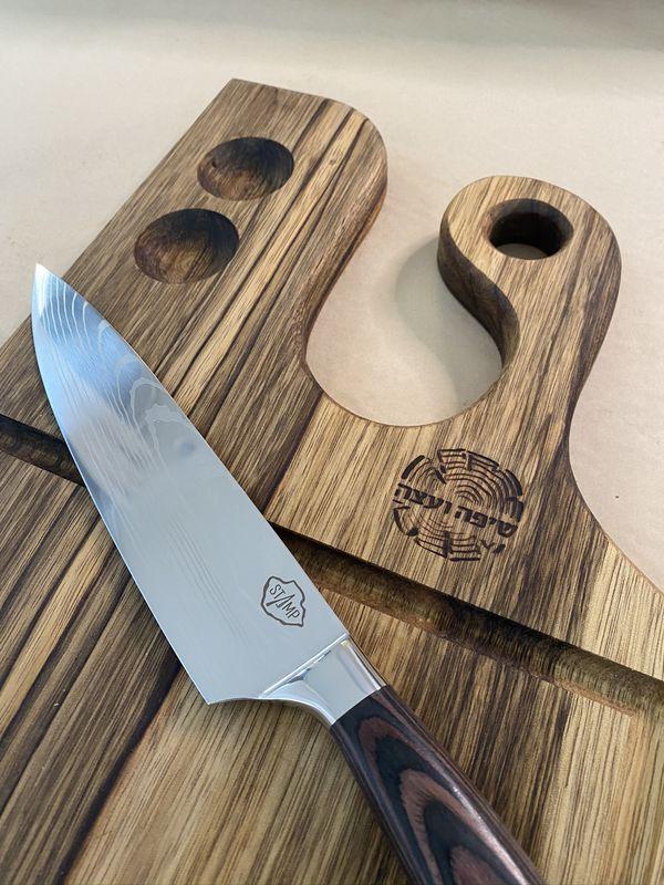 מארז בוצ'ר לבשר וסכין שף