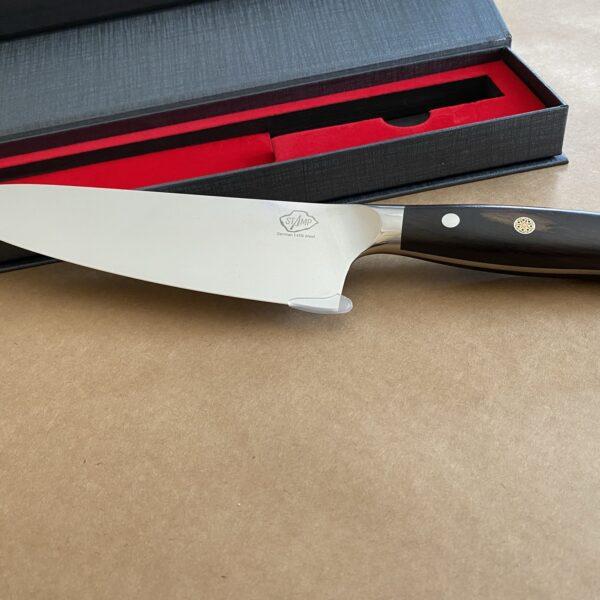 סכין שף מקצועית עם חריטה