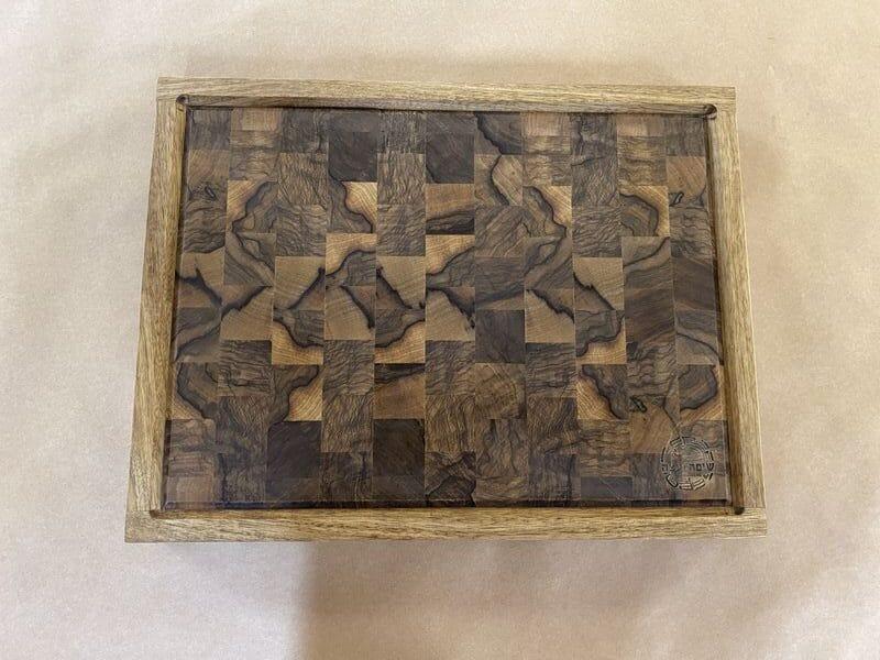 בוצ'ר אנד גריין מקצועי מעץ לימבה- שיפה ועצה