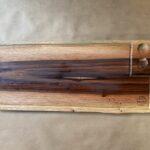 בוצ'ר מעץ טבעי לנתחי בשר