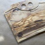 קרש חיתוך מעץ זית לבשר